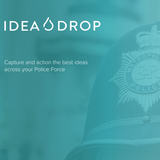 Metropolitan police and idea drop cover green