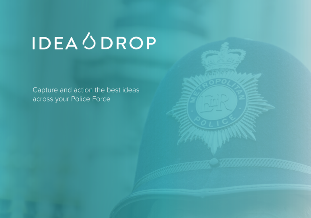 Idea Drop launches across the Met Police's Lewisham borough