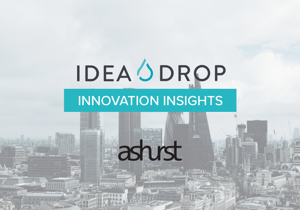 idea drop innovation insights and ashurst interview cover