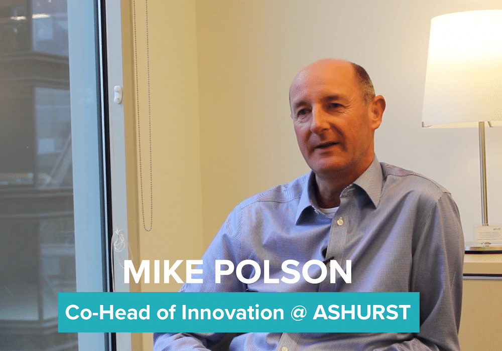 Innovation Insights with Mike Polson from Ashurst