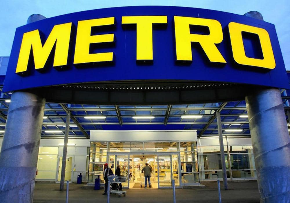 metro cash and carry entrance