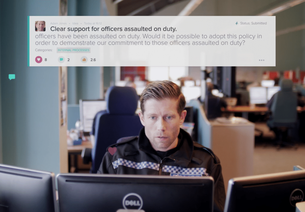 Kent Police – A customer success story