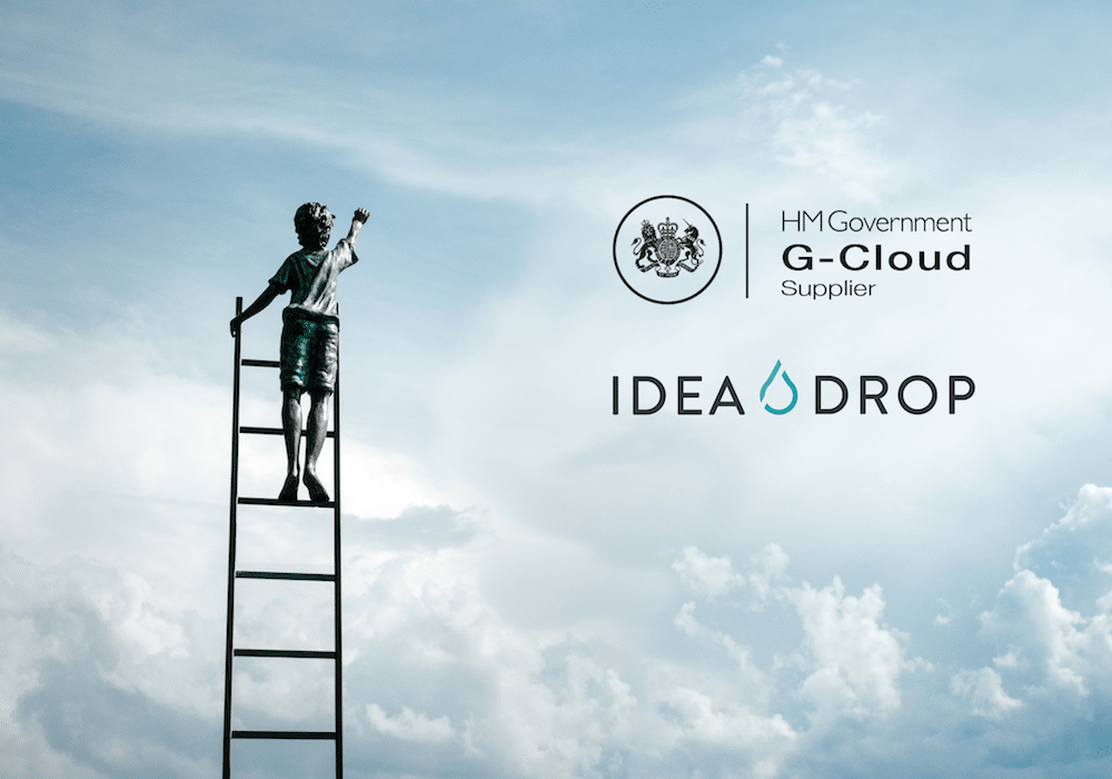 Idea Drop is an approved supplier on the G-Cloud 10 digital marketplace