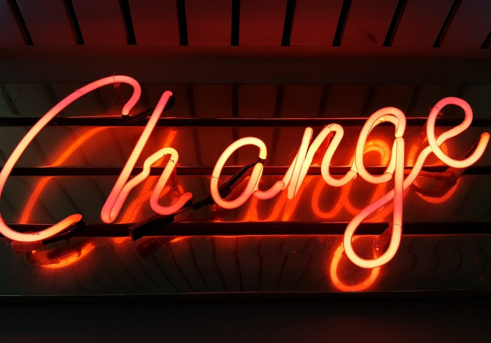 Change neon light