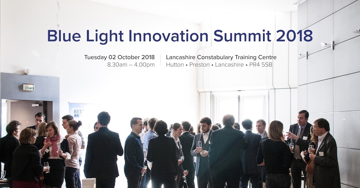 Blue Light Innovation Summit Lancashire