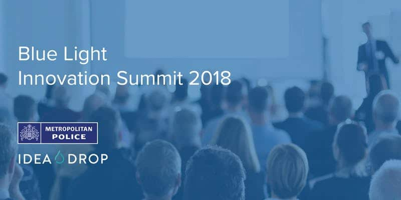 Blue Light Innovation Summit with Met Police