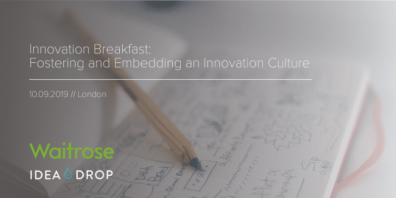 Innovation Breakfast: Fostering and embedding an innovation culture